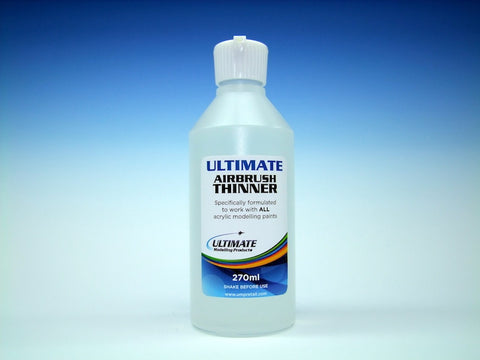 Ultimate Airbrush Thinner (270ml) - Pegasus Hobby Supplies