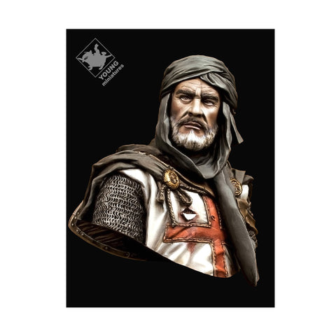 Templar Knight in Jerusalem Bust (1/10) - Pegasus Hobby Supplies