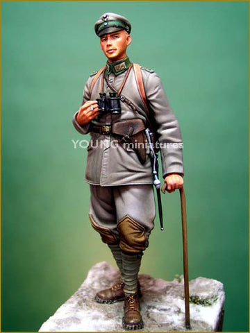 Oberleutnant 3rd Light Infantry Regiment 1917 (70mm) - Pegasus Hobby Supplies