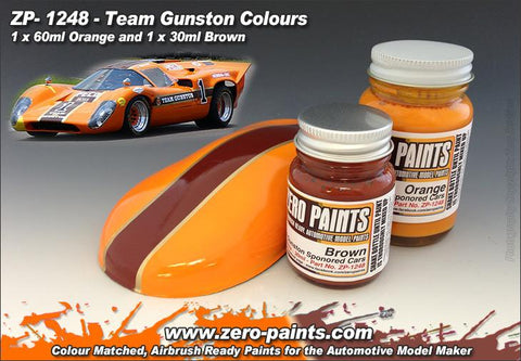 Zero Paints : Team Gunston Set (2 x 30ml)