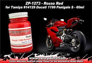 Zero Paints : Ducati 1199 Panigale S Rosso Red (60ml)
