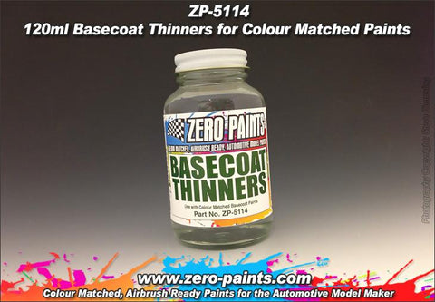 Zero Paints : Basecoat Thinners - Pegasus Hobby Supplies