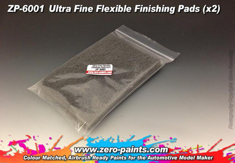 Zero Paints : Ultra Fine Flexible Finishing Pads (x2)