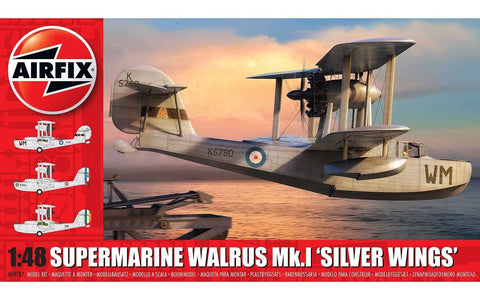 "Supermarine Walrus ""Silver Wings"" (1/48) - Pegasus Hobby Supplies"