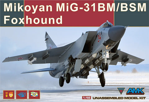 Mikoyan MiG-31 BM/BSM Foxhound plus Upgrade Kit