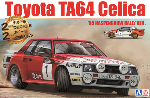 TA64 Celica '85 Haspengouw Rally