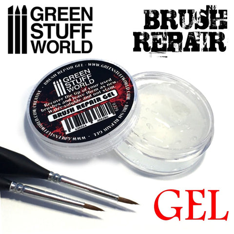 Brush Repair Gel (25ml) - Pegasus Hobby Supplies