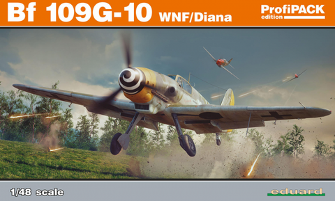Bf 109G-10 WNF/Diana ProfiPACK,  (1/48) - Pegasus Hobby Supplies