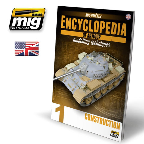 Encyclopedia of Armour Modelling Techniques Volume 1 : Construction - Pegasus Hobby Supplies