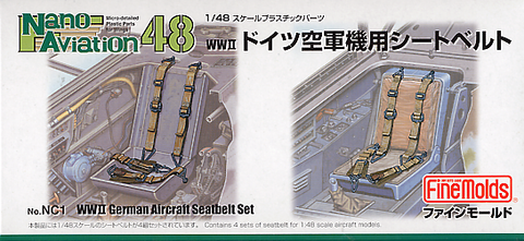 Luftwaffe Seatbelts WWII (1/48) - Pegasus Hobby Supplies