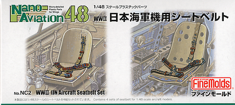 IJN Seatbelts WWII (1/48)
