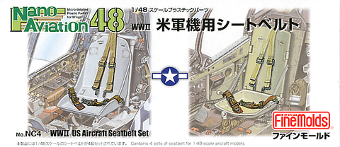 US Seatbelts WWII (1/48) - Pegasus Hobby Supplies