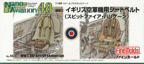 RAF Seatbelts WWII (1/48) - Pegasus Hobby Supplies
