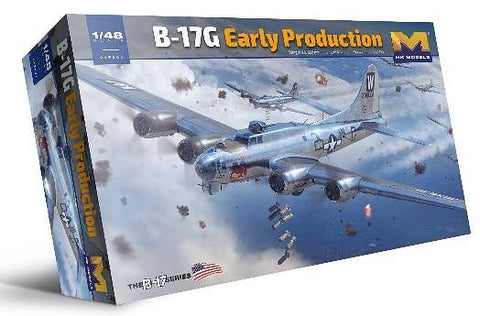 B-17G Flying Fortress Early  (1/48) - Pegasus Hobby Supplies