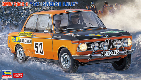 BMW 2002ti 1971 Swedish Rally 1/24