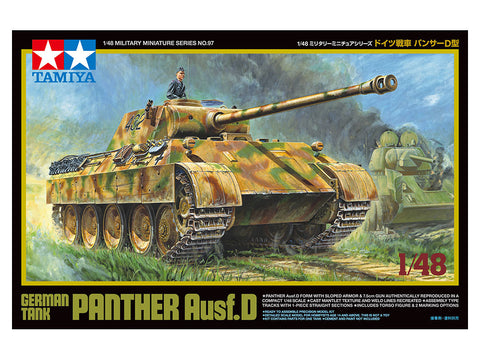 German Tank Panther Ausf.D (1/48)