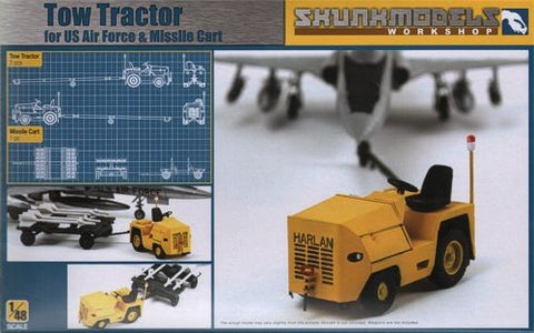 Tow Tractor for U.S. Air Force & Missle Cart - Pegasus Hobby Supplies