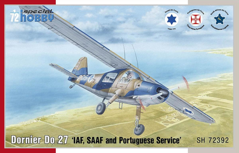 Dornier Do 27 IDF/ SAAF and Portuguese  (1/72)
