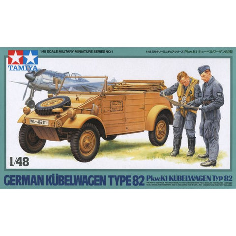 German Kubelwagen Type 82 (1/48)
