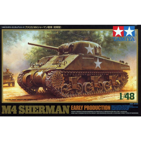 US M4 Sherman Early Production (1/48)