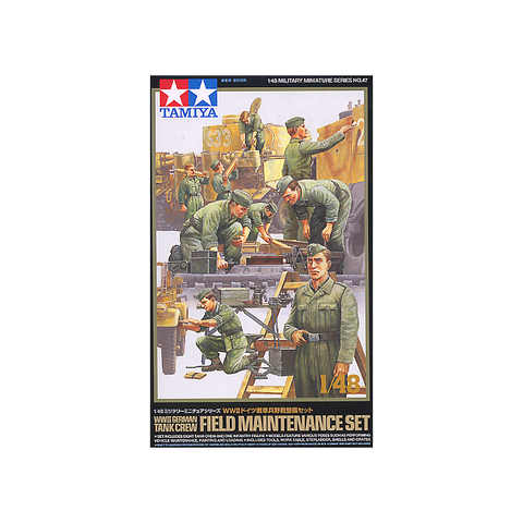 German Field Maintenance Set (1/48)
