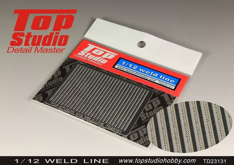 1/12 Weld Line - Pegasus Hobby Supplies