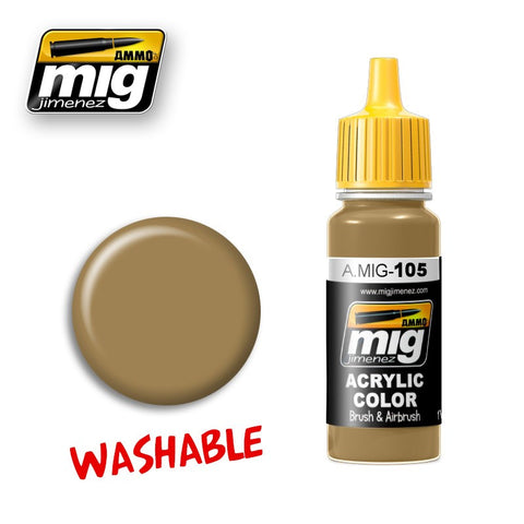Washable : Dust [RAL 8000] (17ml)