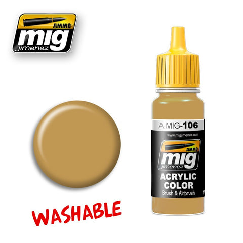 Washable : Sand [RAL 8020] (17ml)