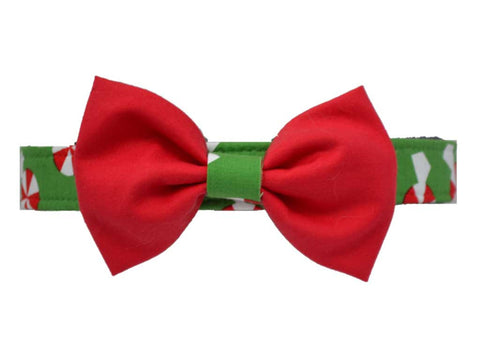 Green Peppermint Bow Tie Set