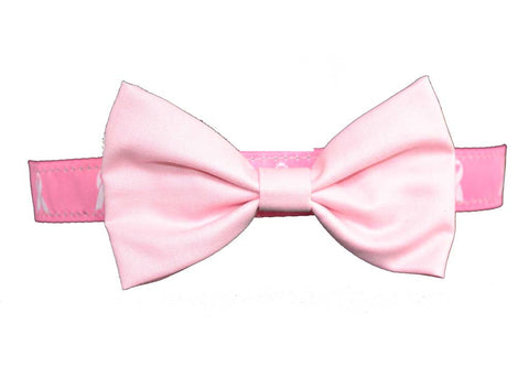 Hot Pink Breast Cancer BowTie Set