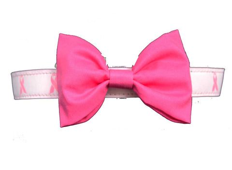 Breast Cancer Bow Tie Set