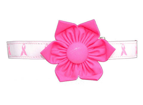 Breast Cancer Flower Set