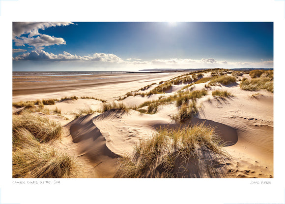 camber dunes poster