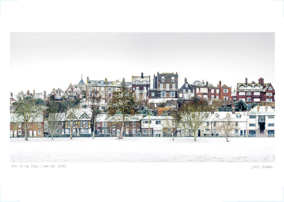 rye in snow from the salts poster