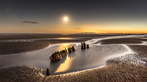 moonlit wreck at camber no.1