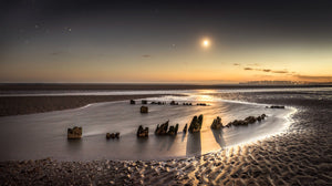 moonlit wreck at camber no.2