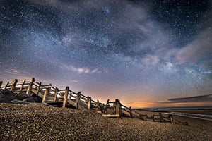 milky way over camber