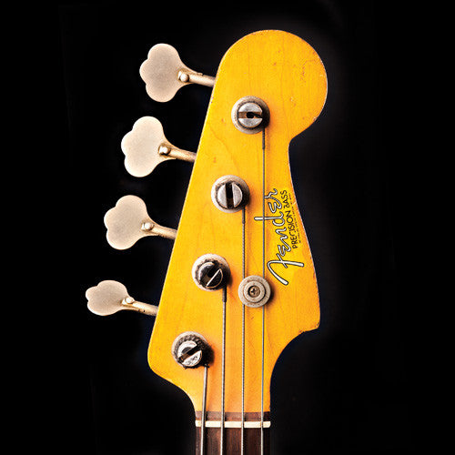 precision bass headstock
