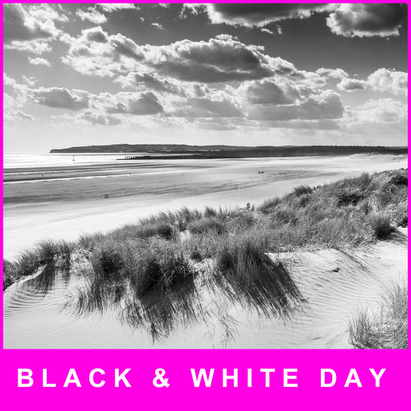 Black and White day/evening   - Saturday 25 July 2020