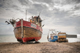 Hastings Fishing boats, Huts and Pier - Saturday 18 April 2020