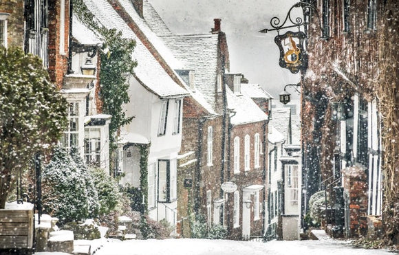 mermaid street rye snowing