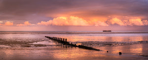 mulberry harbour sunset littlestone