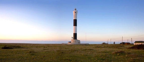 new lighthouse at Dungeness