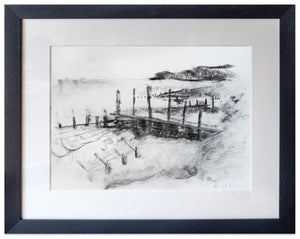 signed print of wichelsea and cliff end