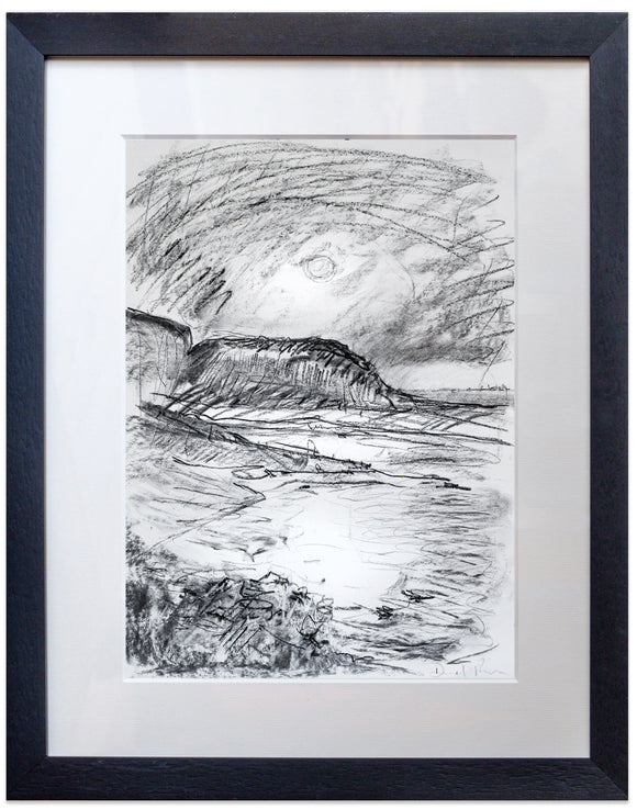 signed print of moonrise in hastings