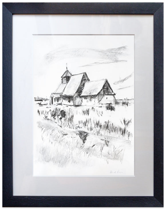 signed print of fairfield church