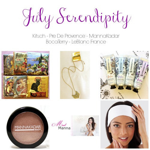 July 2016 Serendipity By LLB