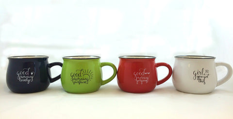 Haley Sadlo Kettle Cup Collection (Set of 4)