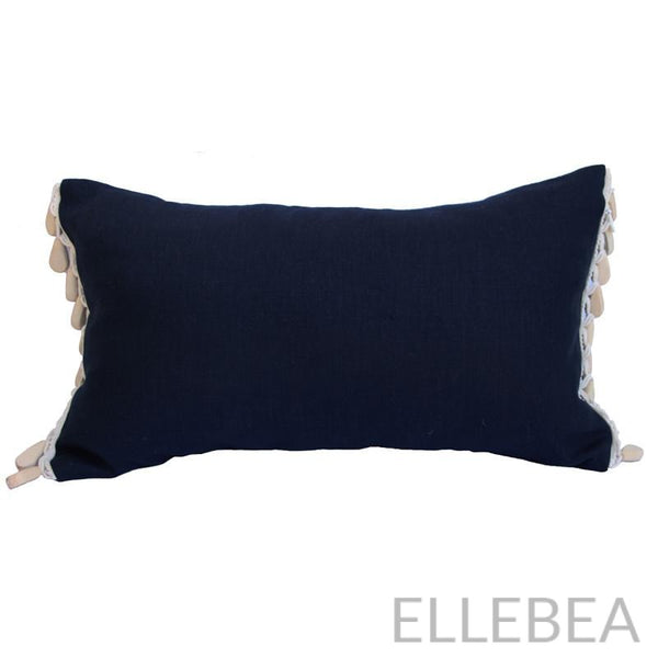 The Robertson Navy Linen Pillow