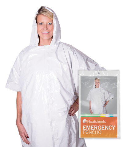 Individually Packed Heatsheets® Ponchos - 100 per carton